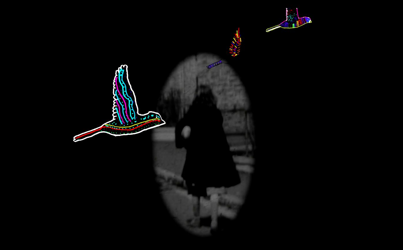 Capture d'écran du film Martha & les oiseaux d'Étrange miroir.