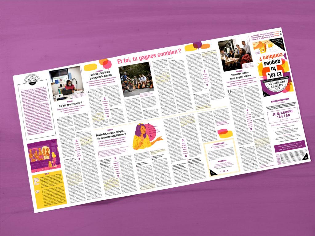 Magazine Les Autres Possibles 29 déplié