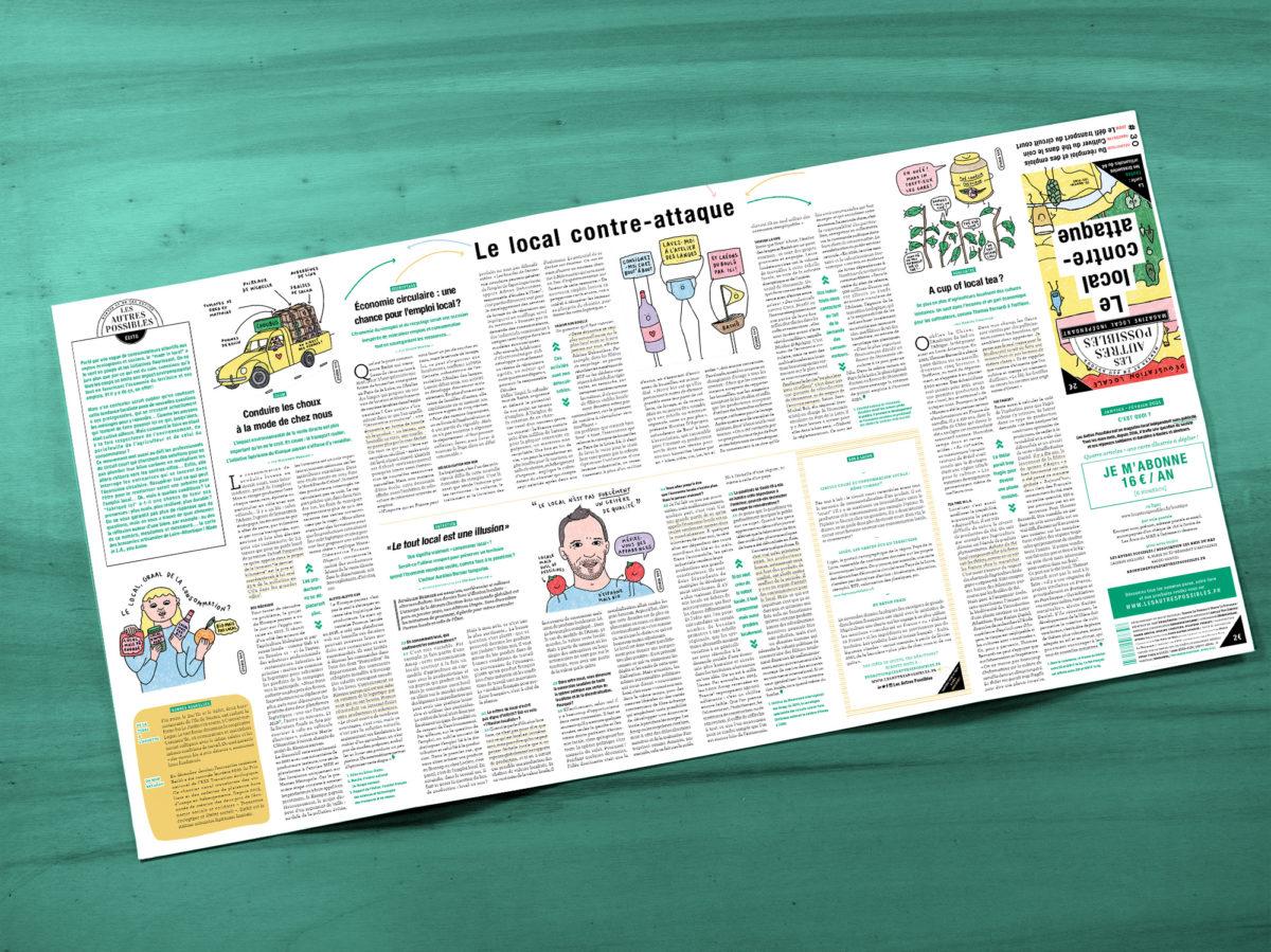 MAP Numero 30- Magazine les autres possibles Nantes consommation locale
