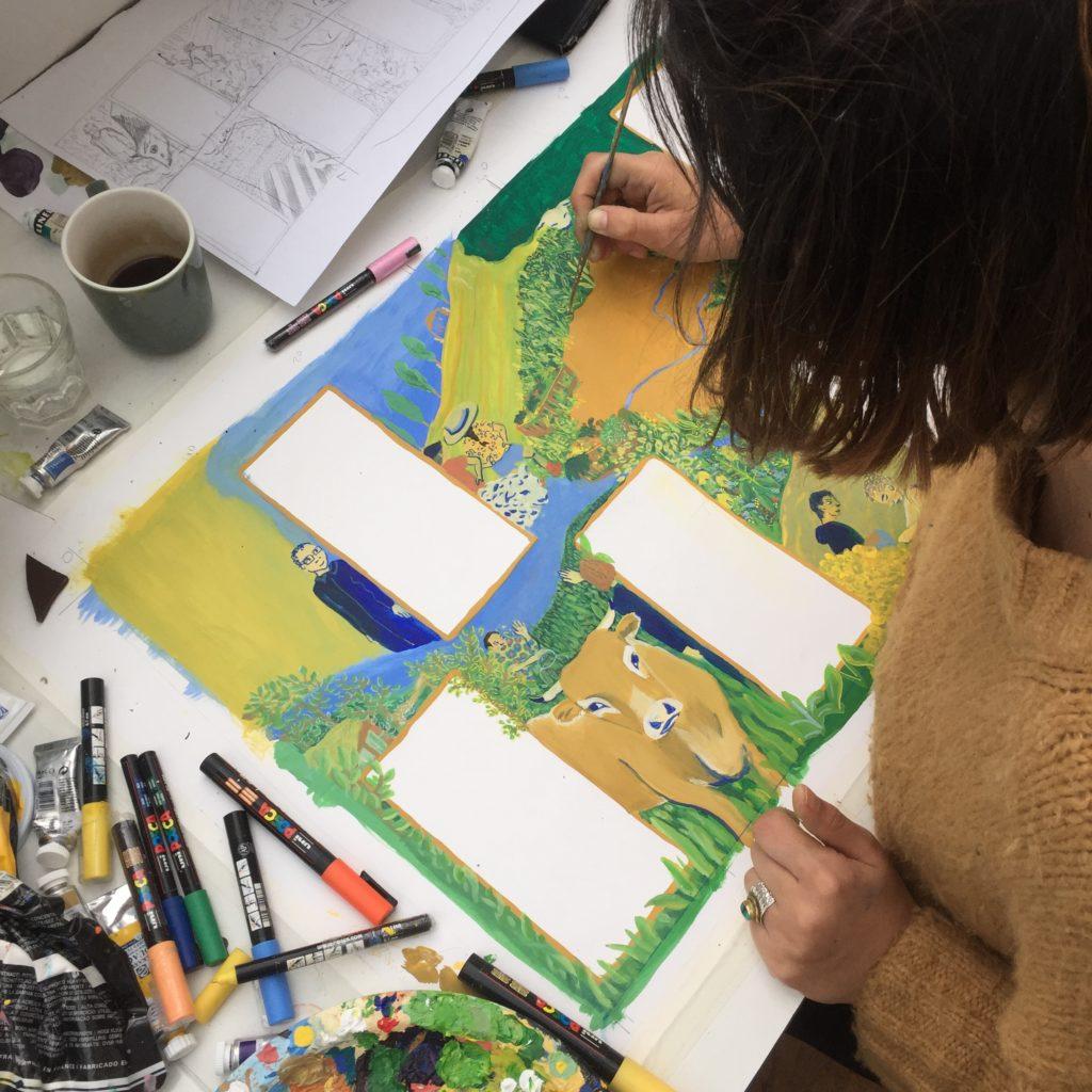 Cécile Aurégan artiste illustratrice nantes